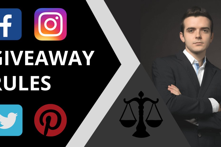 Giveaway rules - contests, sweepstake - thumbnail